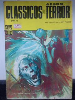 Hq Album Classicos De Terror (2ª Serie) Nº 3 Taika 1973 Rjhm