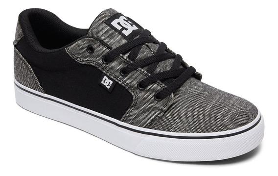 Zapatilla Anvil Tx Se Gris Dc Shoes