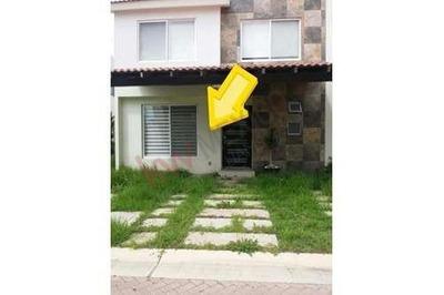 Renta De Casa En Zona Norte Aguascalientes, Condominio Residencial Las Plazas (cm)