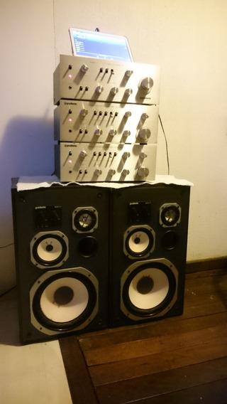 Amplificador Gradiente Model 160 Zerado