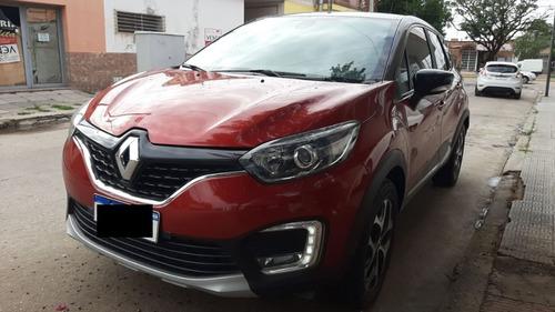 Renault Captur Intense 2017 C/gnc De 5ta!