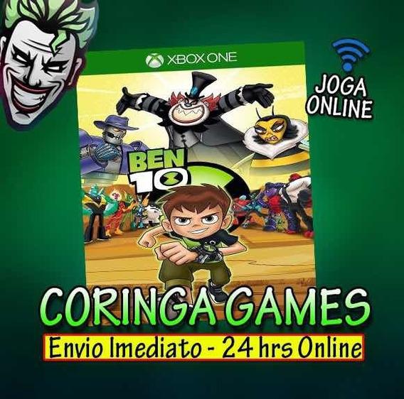 Ben 10 Xbox One Mídia Digital Mais 2 Jogos Brindes Promoção