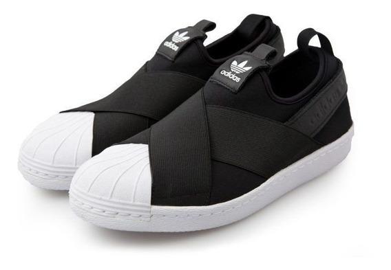 Tênis adidas Superstar Slip-on Original Preto Nº 35