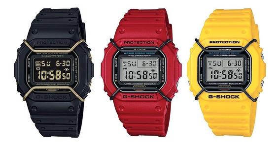 Protetor Metálico Bullbar Jaysandkays P/ Relógio G-shock Dw5600 Dw5610 Awgm100 Ae1200 Ae1000 + Brinde