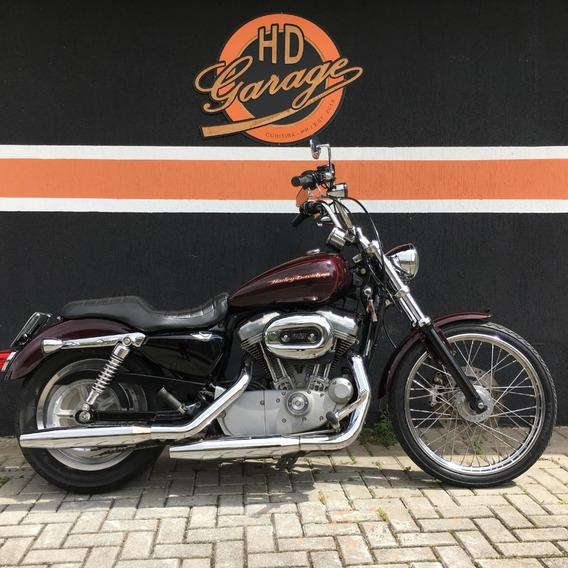 Harley Davidson Xl 883 Custom 2005/2005 - Carburada - Vinho