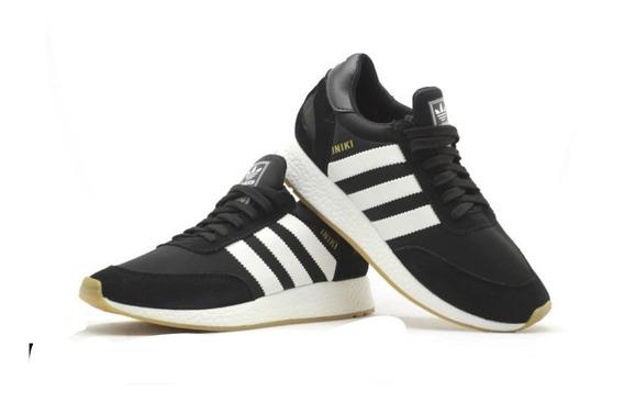 Tênis adidas Iniki Runner Boost Originals Preto Promoção