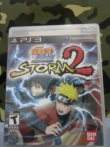 Naruto Shippuden Ultimate Ninja Storm 2 Ps3 Fisico Z/lomas