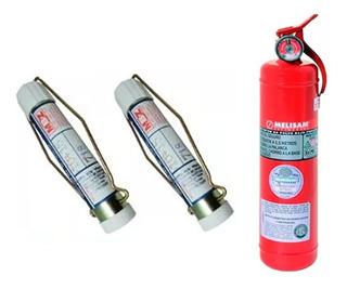Kit Elementos Seguridad Bengala Matafuego (no Envios)