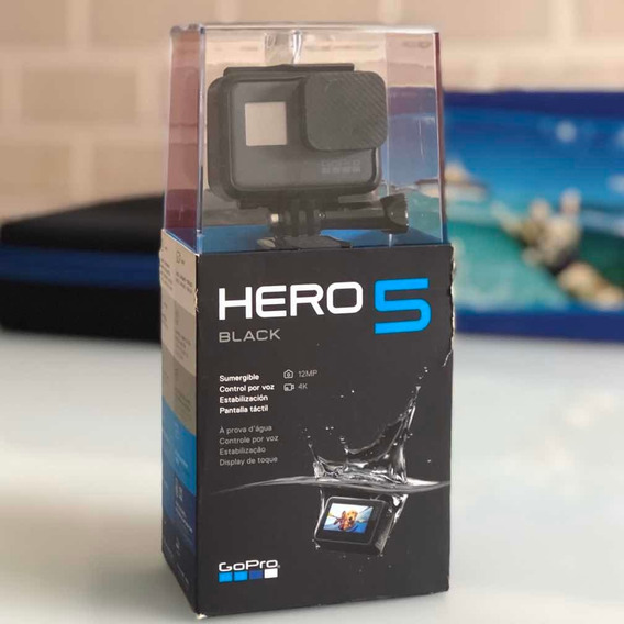 Gopro Hero5 Black Kit Completo C/ Dome, Baterias Extras, Etc