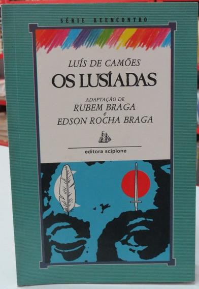 Livro Os Lusíadas Luís De Camões Scipione Coleção Reencontro