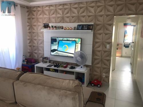 Imagem 1 de 23 de Apartamento A Venda No Bairro Jardim Las Palmas Em Guarujá - 1056-1