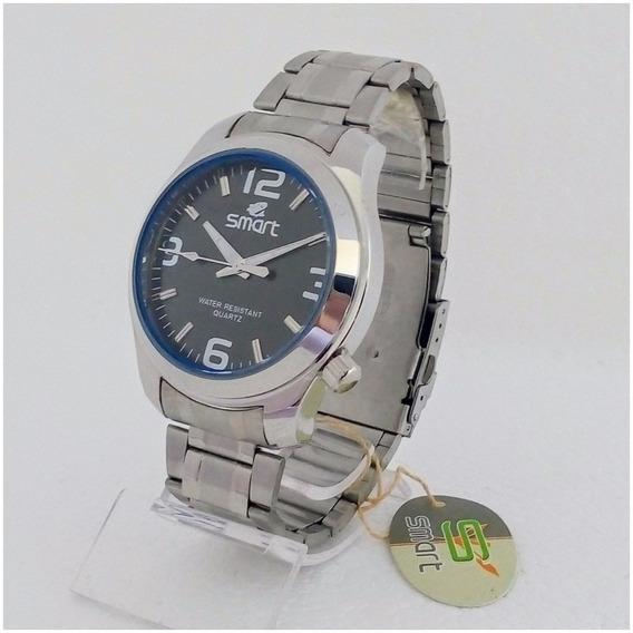 Relógio Masculino Smart Original Prova Dagua Aço Inoxidável 12x Sem Juros