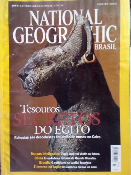 Revista National Geografic Janeiro 2003
