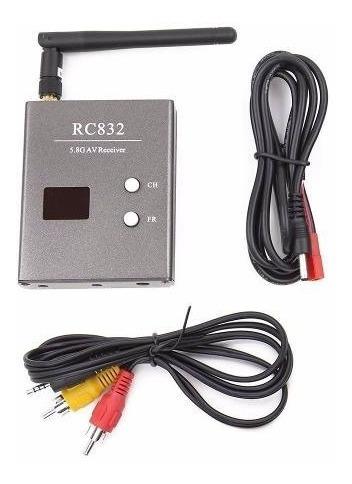 Fpv 5.8ghz 32ch Boscam Rc832 Drone Receptor De Audio E Víde