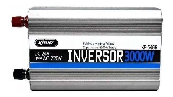 Inversor Automotivo Veicular 3000w 24v 110v Ou 220v Knup
