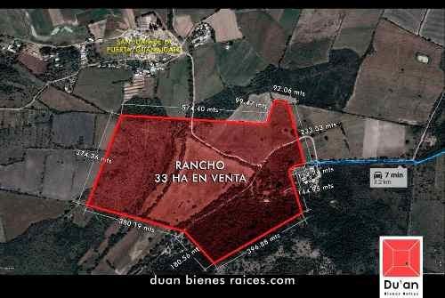 Remate Rancho De 33 Hectáreas En Venta Carretera Cueramaro,