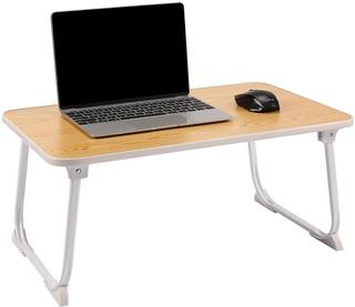 Mesa De Cama Para Uso De Laptop De Fácil Uso Plegable Madera