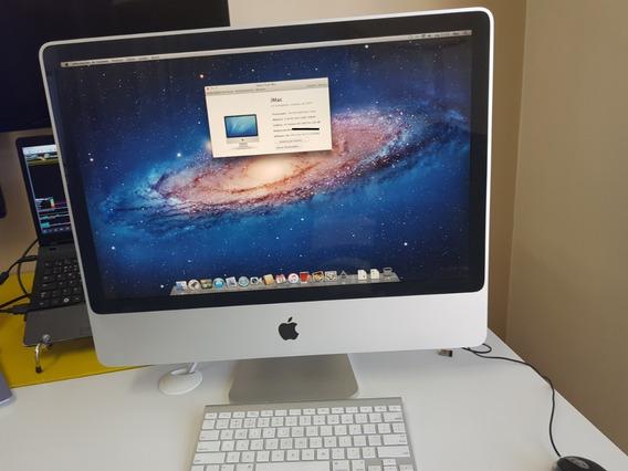 iMac 24 Core 2 Duo 2007 Hd 320g 4gb Os X Lion 10.7.5 Lindo
