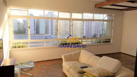 Excelente Apartamento Para Locação Na Bela Vista Com 4 Dormitórios, 1 Suíte, 4 Vagas - 290 M² - Ap2564