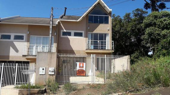 Sobrado Com 3 Dormitórios Para Alugar, 180 M² Por R$ 2.600,00/mês - Estrela - Ponta Grossa/pr - So0100