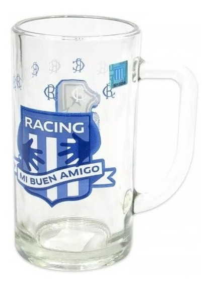Chopp Cervecero 500cc River Racing Boca Independiente Equipo