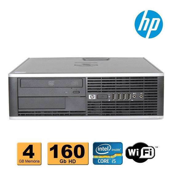 Pc Cpu Hp Core I5 4gb Ddr3 160gb Gravador Dvd Wifi