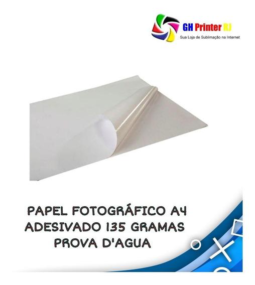 Papel Fotográfico A4 Adesivo 135 Gr Prova D