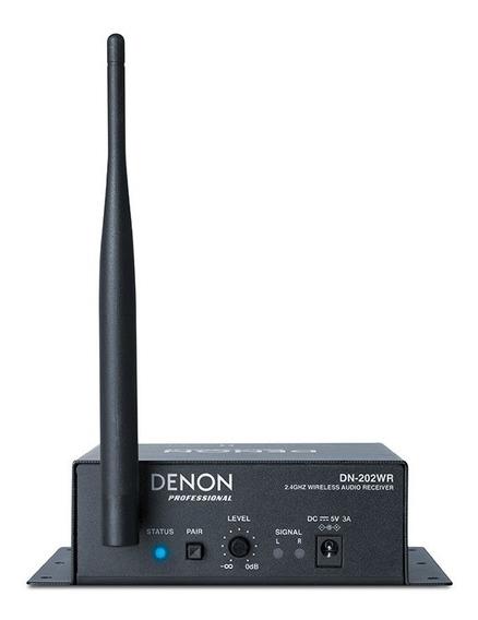 Denon Pro Dn202wr Receptor Audio Inalámbrico Para Dn202wt 6p