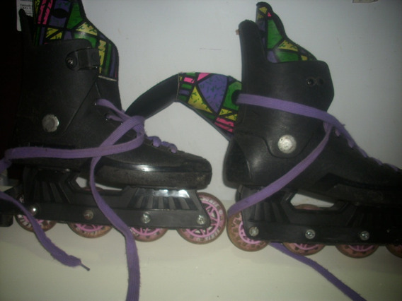 Patins Antigo / Par Patins N;38/ So Falta Presilha /aperta