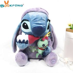 Lilo Stitch De Pijama Com Xepa Pelucia Original Disney 27 Cm