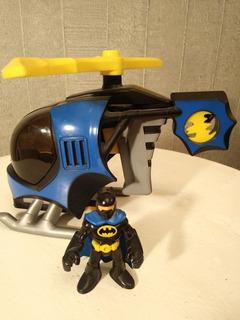 Imaginext - Batman Con Helicóptero - Fisher Price