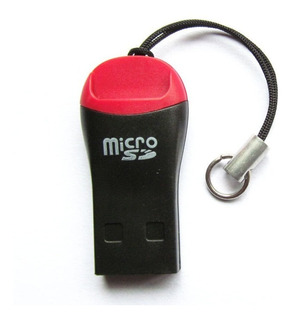 Adaptador Micro Sd A Usb 2.0 Mini Lector Flash 2 Piezas!