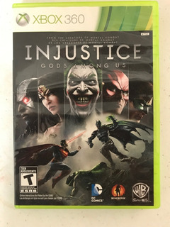 Injustice, Gods Amon Us, X Box 360