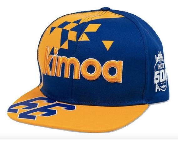 Gorra Indy 500 Mclaren, Kimoa, F Alonso, Original Nueva