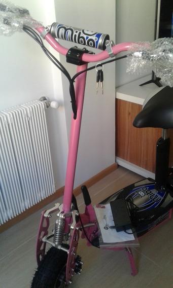 Monopatin Electrico Mibo Edo009. Nuevo. Disponible En Rosa