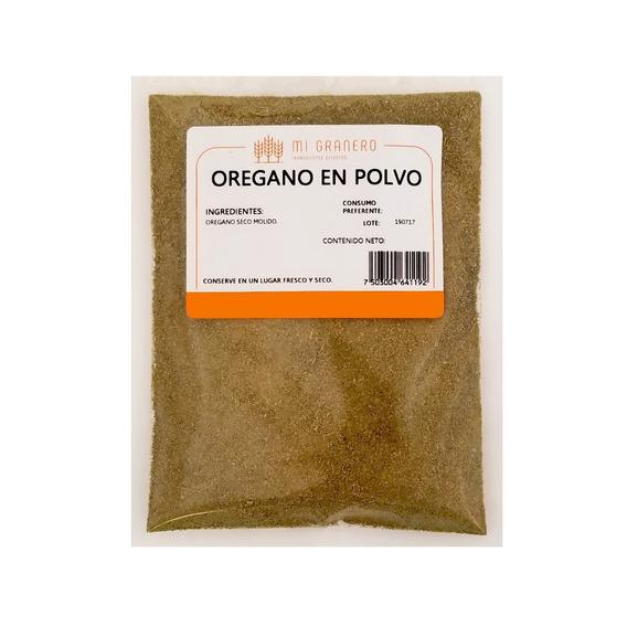 Orégano Molido En Polvo Granel 1 Kilogramo