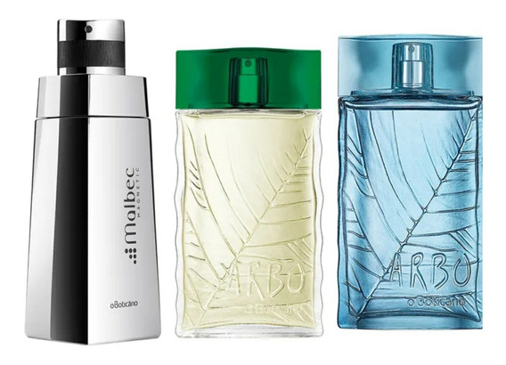 Trio Perfume Masculino 100ml O Boticario