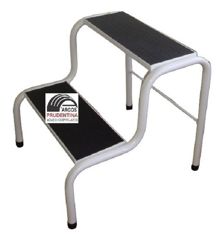 Imagem 1 de 2 de Escada Escadinha 2 Degraus Obeso Maca E Depilação 180kg