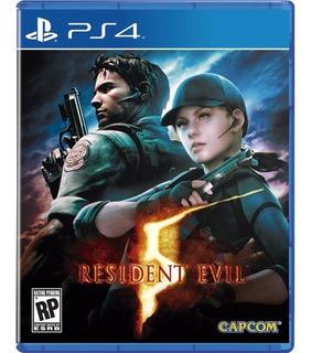 Juego Original Resident Evil 5 Ps4 Somos Tienda