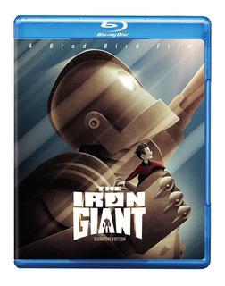 Bru-ray O Gigante De Ferro ( The Iron Giant ) Dublado Pt-br