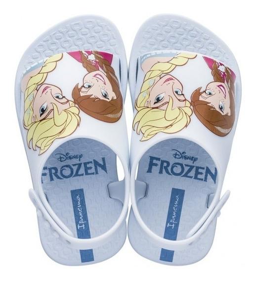 Sandalias Ojotas Frozen Baby Disney Originales Fty Calzados