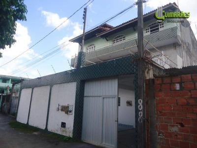 Casa Triplex Com Galpão, 556,35m² - Paripe. - Ca0144