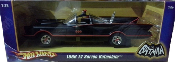 Hot Wheels Batman 1966 Tv Series Batmobile Escala 1:18 {100}