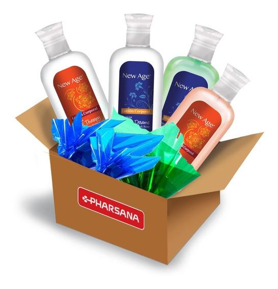 Ecobox New Age Loción Y Shower Gel 12 Productos