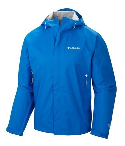 Campera Impermeable Columbia El Cruce Hombre Running