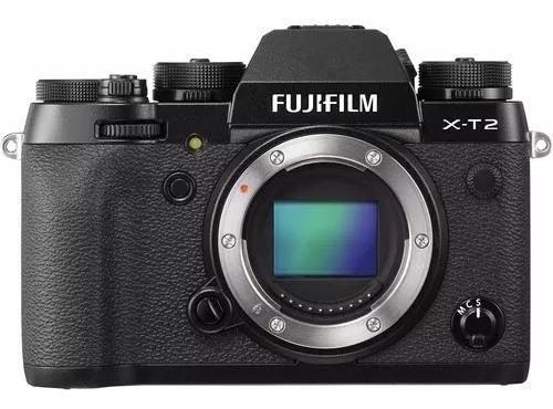 Dslr Fujifilm Xt2 - Top - Filma 4k - Nova - Pague Até 12x