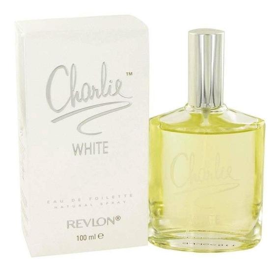 Perfume Feminino Charlie White By Revlon 100ml Edt Original!