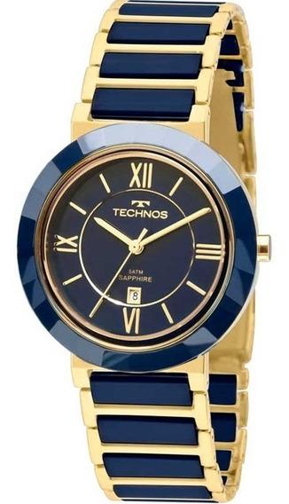 Relógio Technos Feminino Ceramic Elegance 2015ce/5a C/ Nf