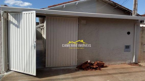 Casa Com 2 Dormitórios Para Alugar, 100 M² Por R$ 1.100,00/mês - Parque São Jerônimo - Americana/sp - Ca2413