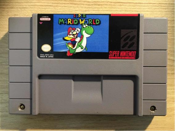 Super Mario World Original Salvando Relabel
